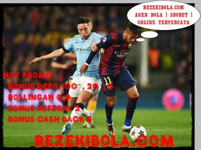 REZEKIBOLA.COM | AGEN BOLA, AGEN CASINO, AGEN TOGEL ONLINE INDONESIA TERPERCAYA - Soal Kegagalan di Liga Champions, Nasri: City Tak Beruntung karena Jumpa Barca