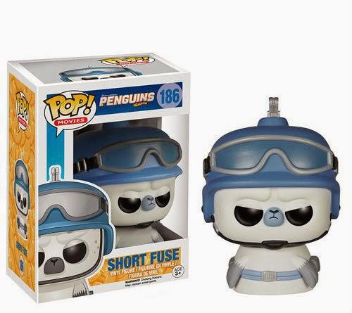 Funko Pop! Short Fuse - Pingüinos de madagascar