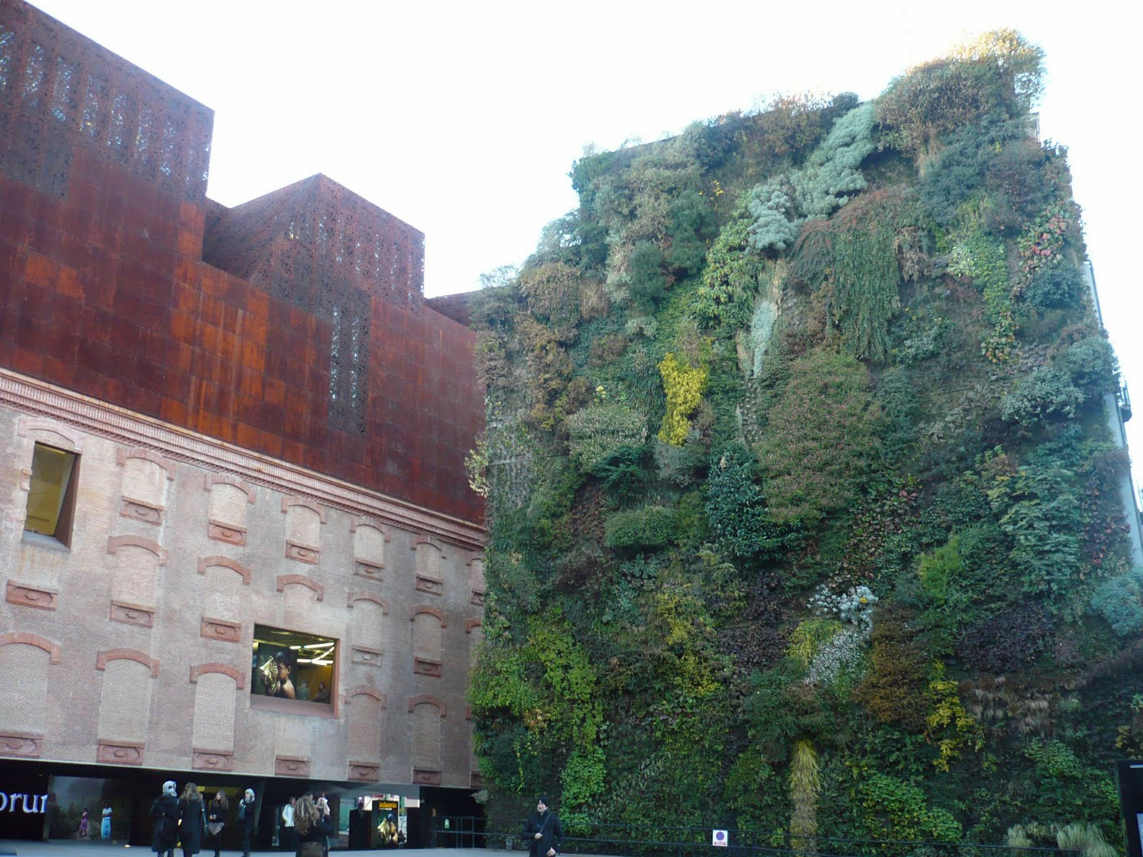 Cultura de sevilla jardines verticales una apuesta de futuro for Jardin vertical madrid