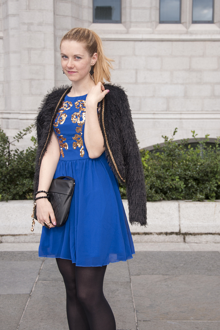 czech blogger in scotland, fashion in aberdeen, chichi dress