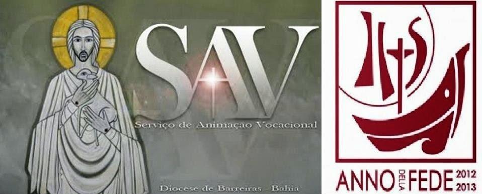 SAV DA DIOCESE DE BARREIRAS - BAHIA