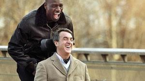 Omar Sy y François Cluzet en Intocable