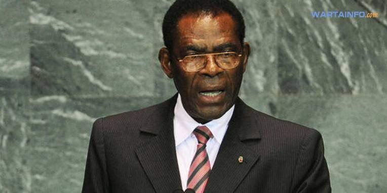 Foto gambar Teodoro Mbasogo Presiden Guinea yang Menjabat Paling terlama di dunia