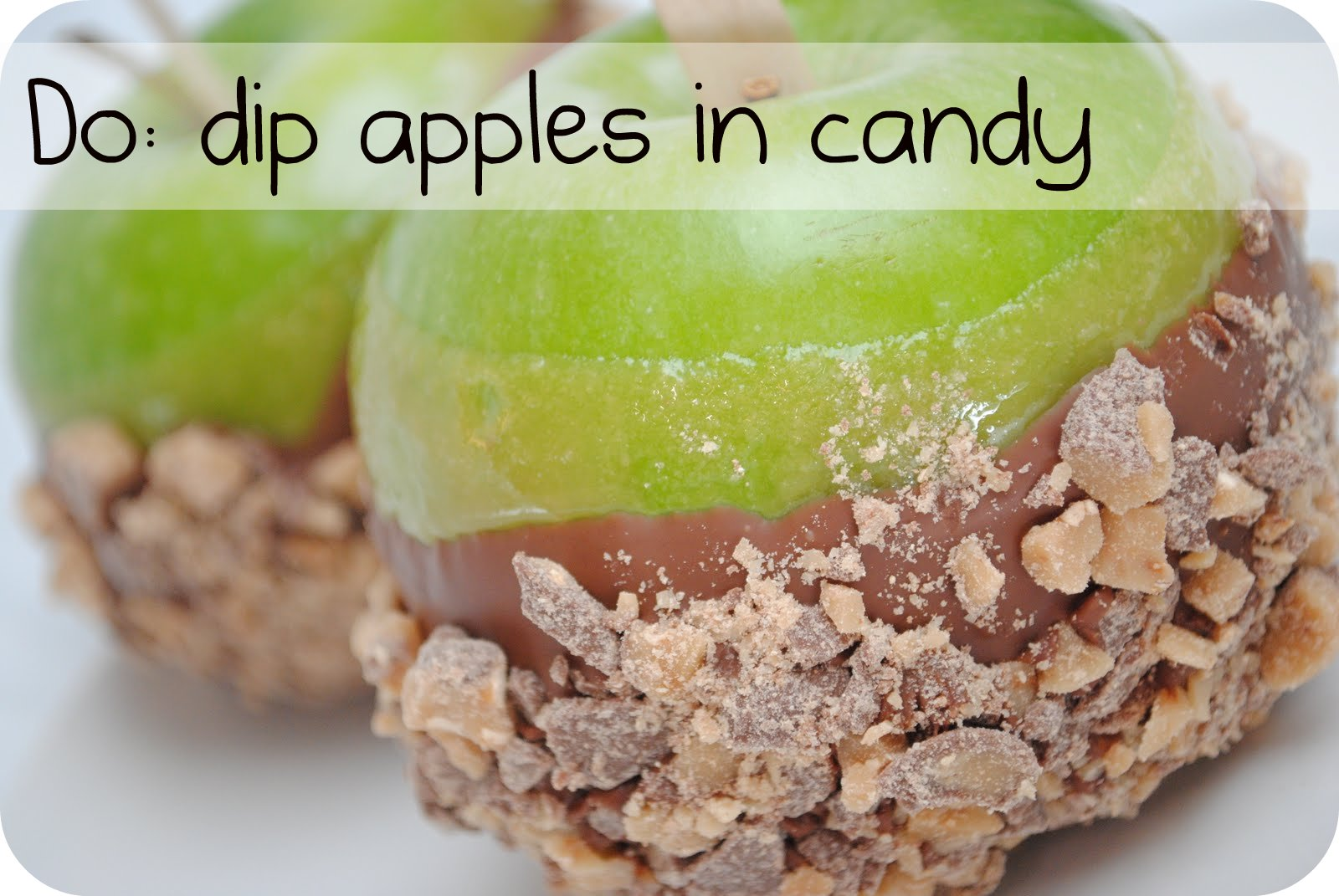 The Do's and Don'ts of Chocolate Covered Caramel Apples ...