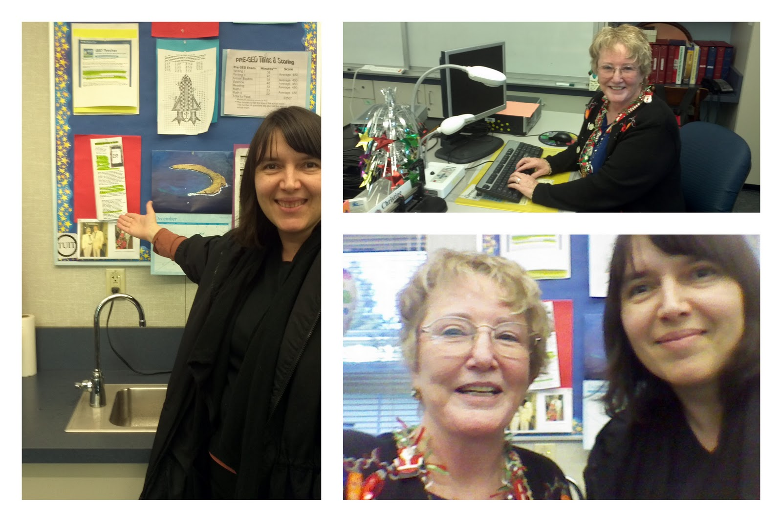 Branka's Site Visit with Christine at Mt. Diablo Adult Education