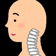 頸椎のイラスト