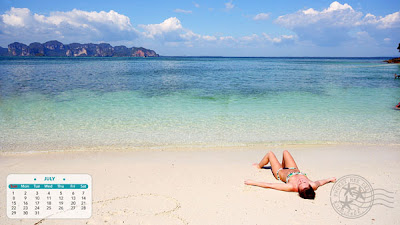 Separated Sea (Thale Waek) : Krabi Thailand