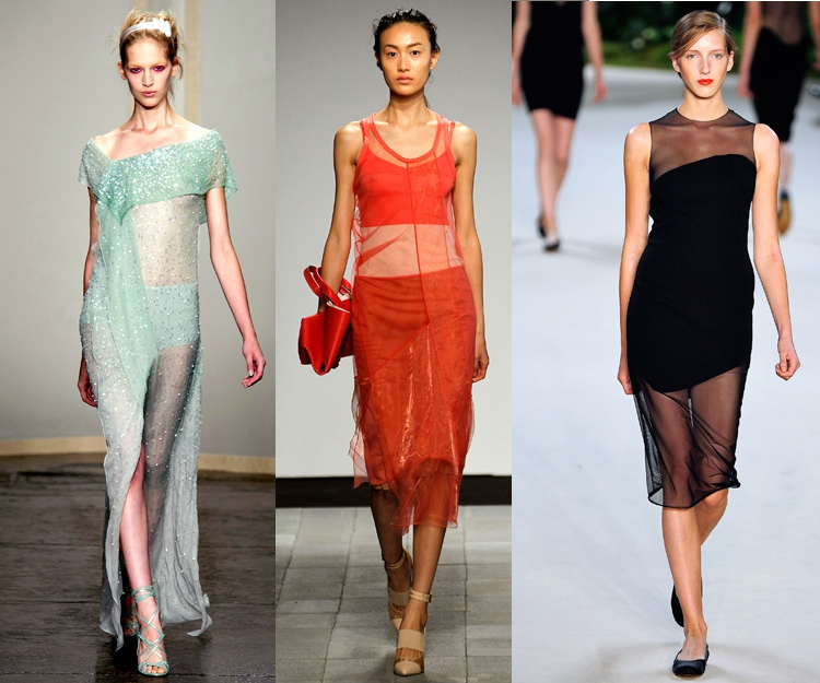 spring trend transparencies pastel colors