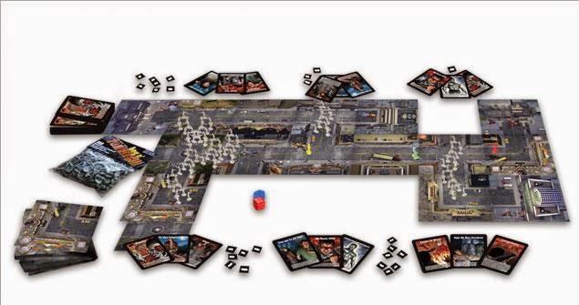 Muestra del juego de cartas Zombies!!!