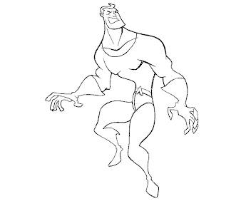 #14 Aquaman Coloring Page
