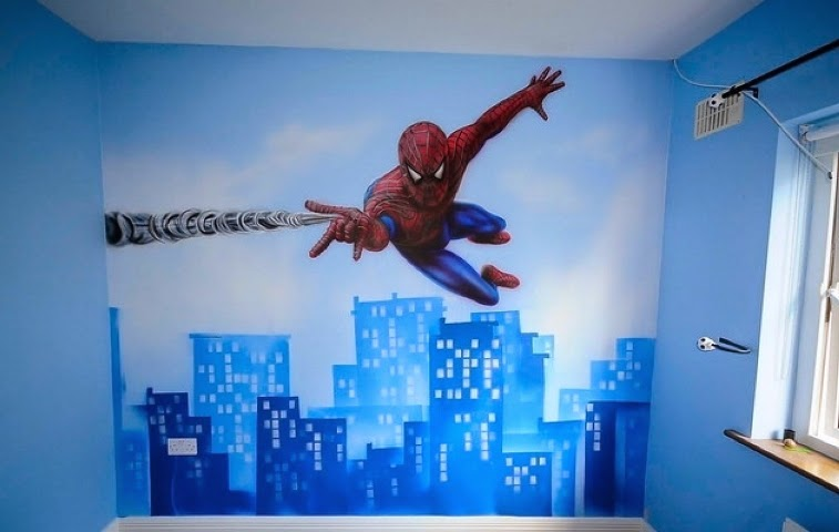 Wall paint ideas for children 39 s rooms Kids room wall painting design