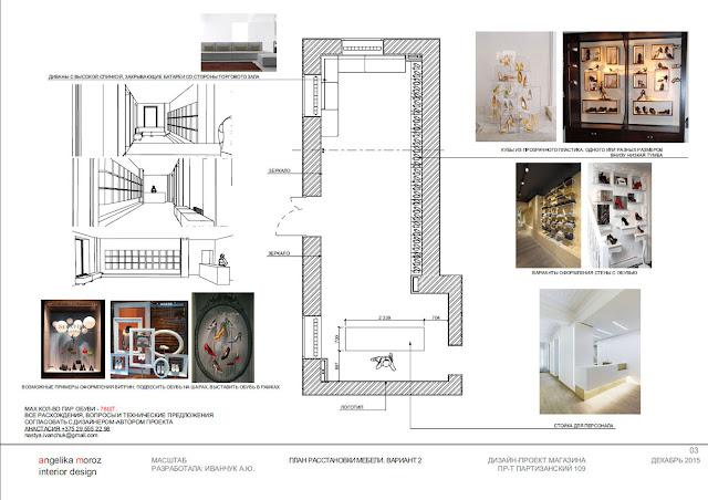 Дизайн интерьера магазина, дизайн проект, дизайн интерьера в Минске, дизайн интерьера минск, дизайн интерьера обувного магазина