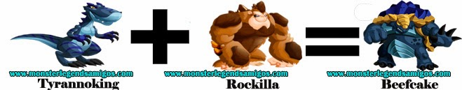 como sacar a beefcake en monster legends formula 1