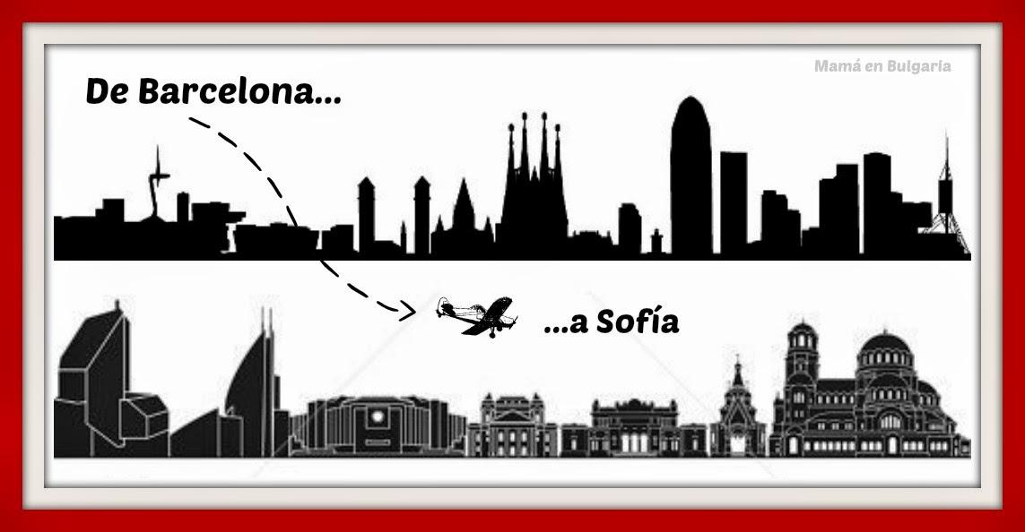 Mudanza de Barcelona a Sofía Bulgaria