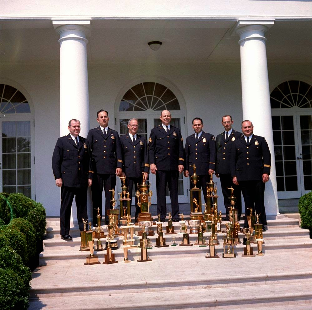 Members of the White House Police Pistol 5/14/62