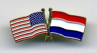 Dutch and US flags 
