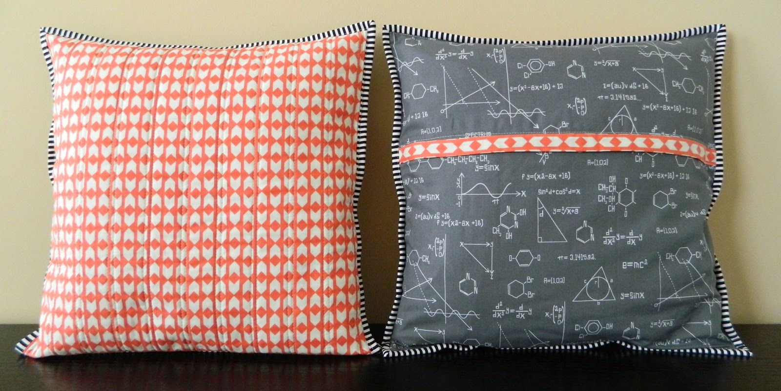 s.o.t.a.k handmade: whole cloth quilted pillow cover {a tutorial}