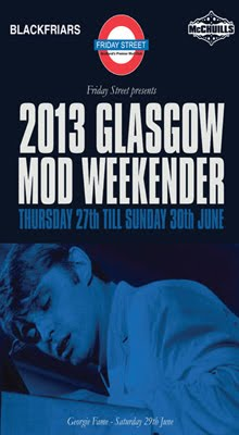 Glasgow Mod Weekender