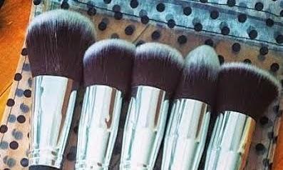 Pretty Girl Brushes + Organic Makeup brush cleanser   100% Vegan High Quality Brush review