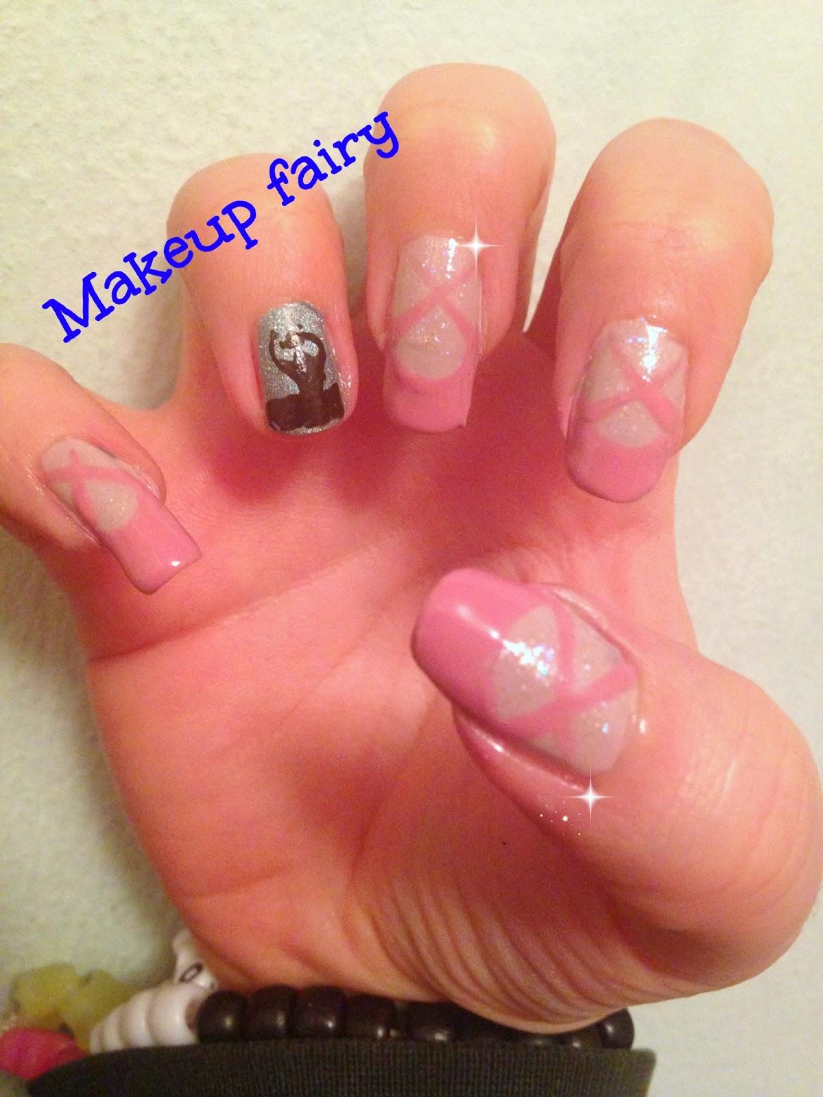 Tinklesmakeup: Ballerina nail art
