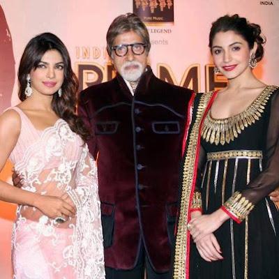 Priyanka Chopra and Anushka Sharma at the India's Prime Icon Grand Finale
