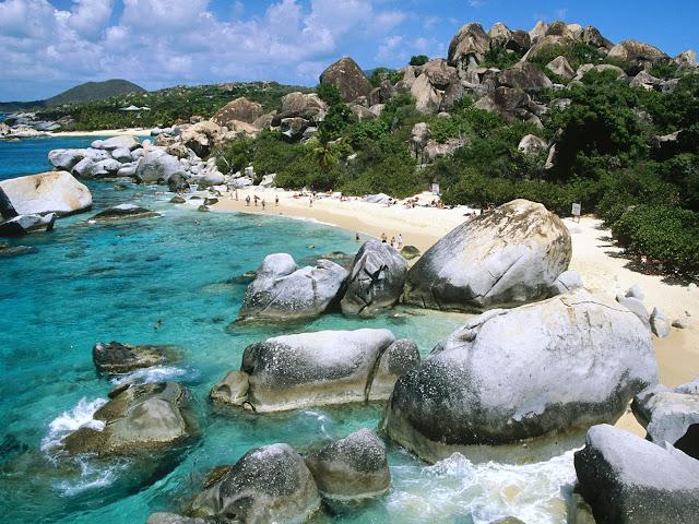 Islas Virgenes Britanicas, Las Antillas