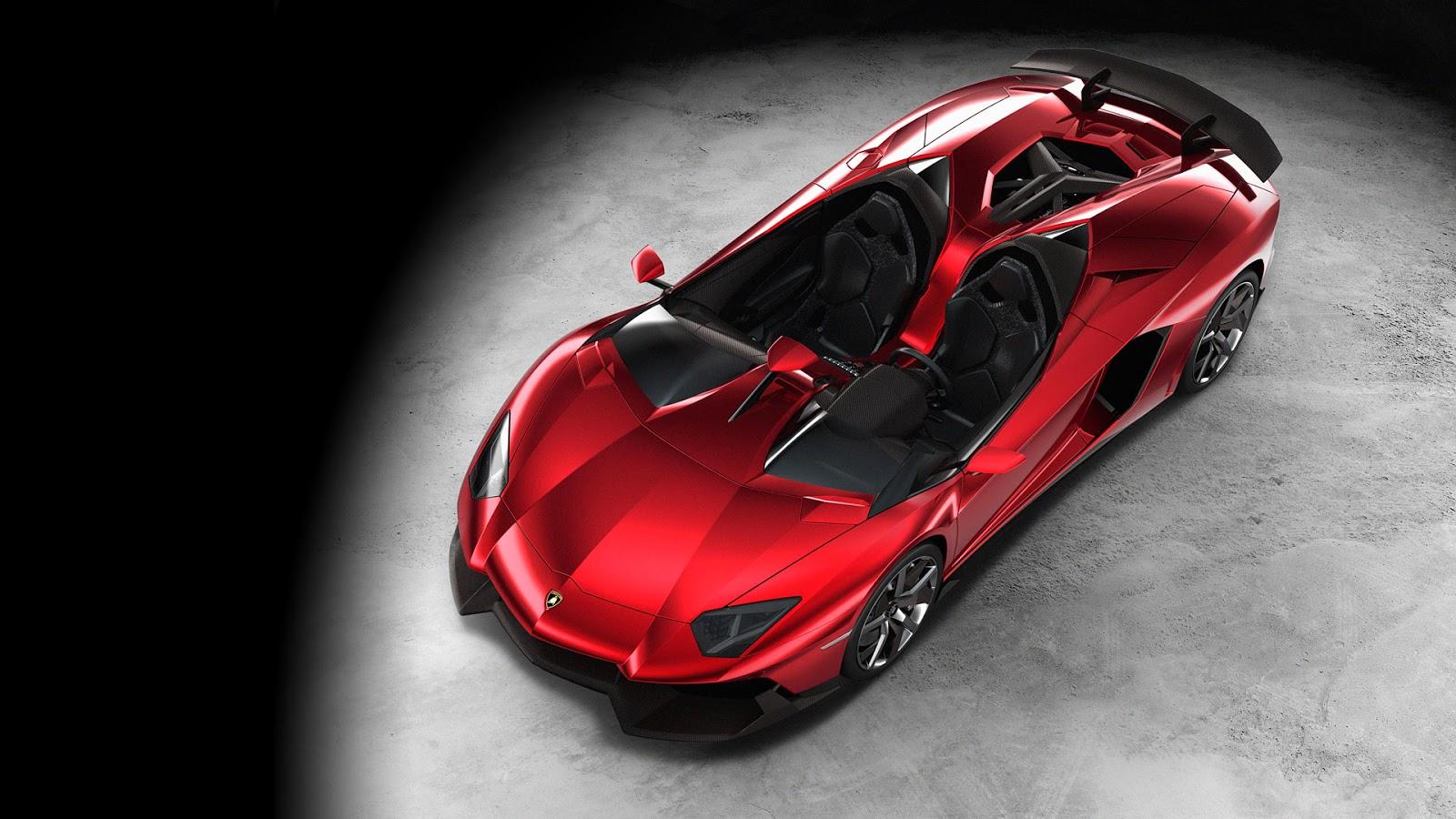 New Lamborghini Aventador J total convertible sportcar
