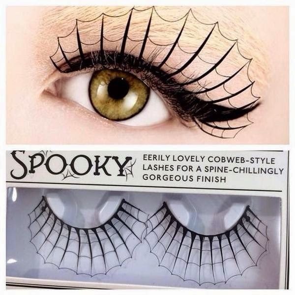 Kostumegirls Closet Spooky Cool Fake Eyelashes For Halloween
