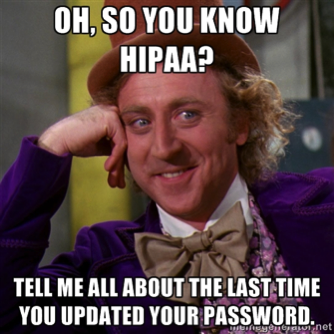 Make HIPAA part of your normal lifestyle