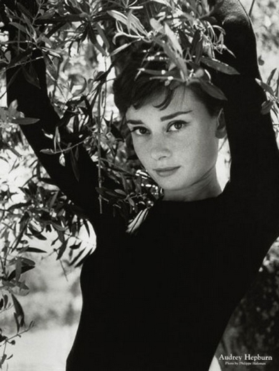 Audrey Hepburn Photography by Philippe Halsman