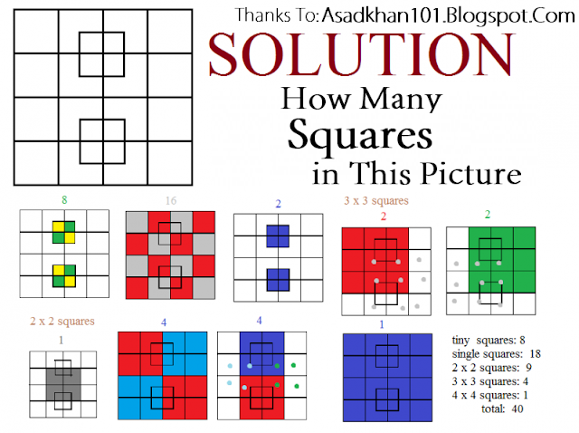40 SQUARES