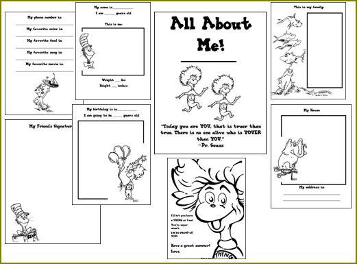 Dr Seuss Math Worksheets 5th Grade dr seuss biography and – Dr Seuss Math Worksheets