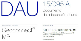 CONECTORES GEOCONNECT® PARA JUNTAS ESTRUCTURALES_STEEL FOR BRICKS
