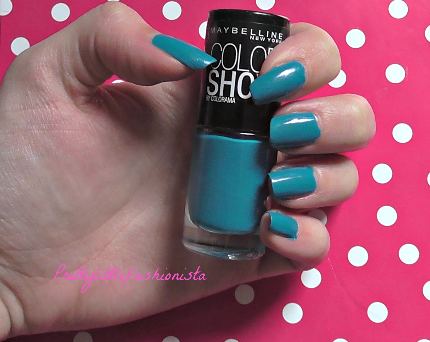 NOTD: Maybelline Superpower Blue