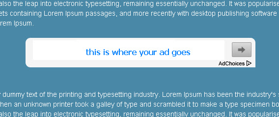 Place AdSense Ads Inside your Article in Blogspot