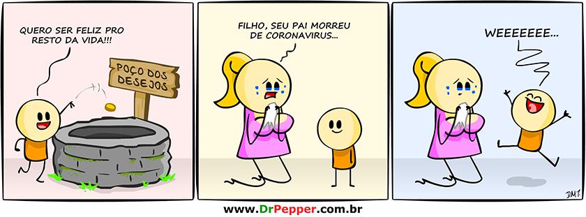 Poço dos desejos edição Coronavírus