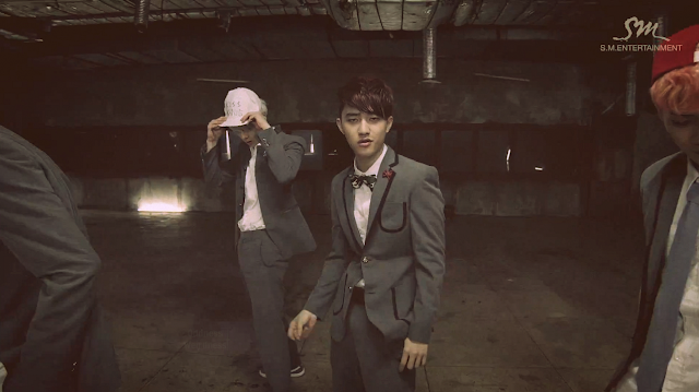 d.o. exo growl mv screencap