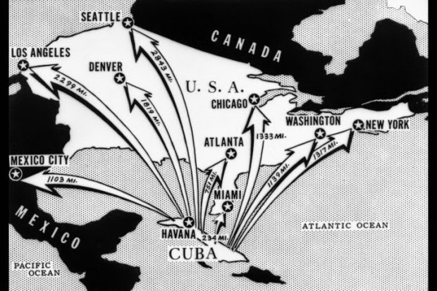 Cuban Putin Invasion of North America