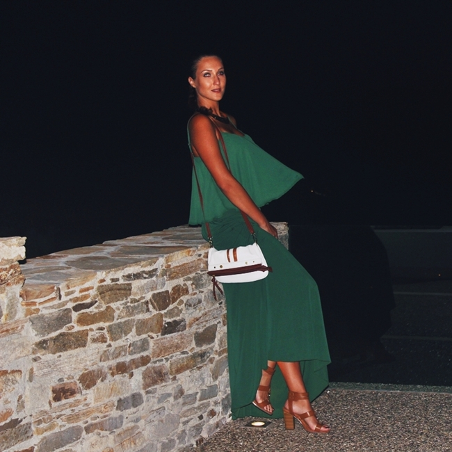 "Jelena Zivanovic Instagram @lelazivanovic.Glam fab week.Outfit ""How to channel your inner Greek Goddess through clothes"".Lynne set.Greek fashion."