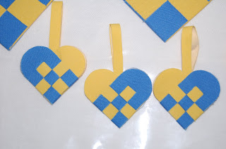Textil-korg, svenska flaggan nr 2