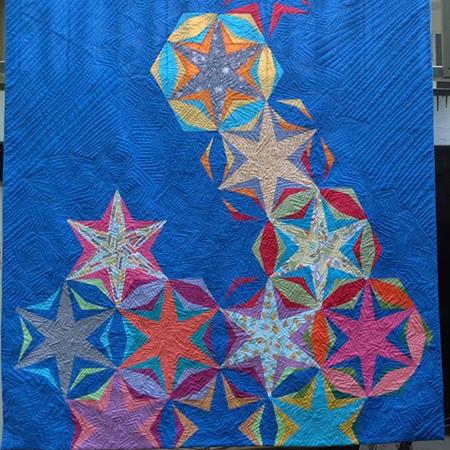 Starpile Quilt Layout