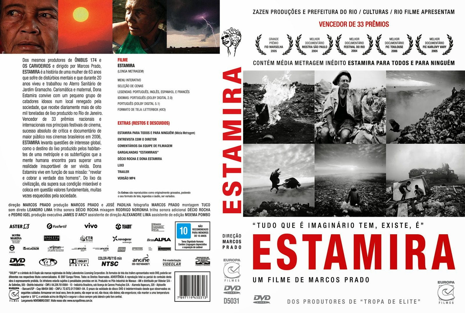 Capa DVD Estamira