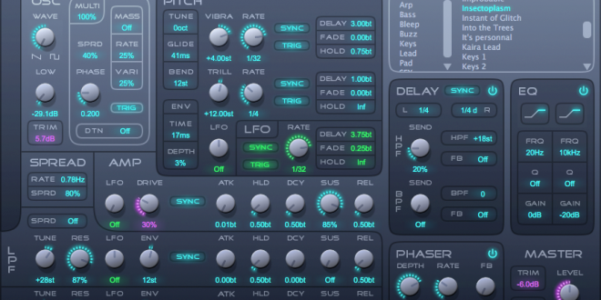 Kairatune VST Synthesizer FREE