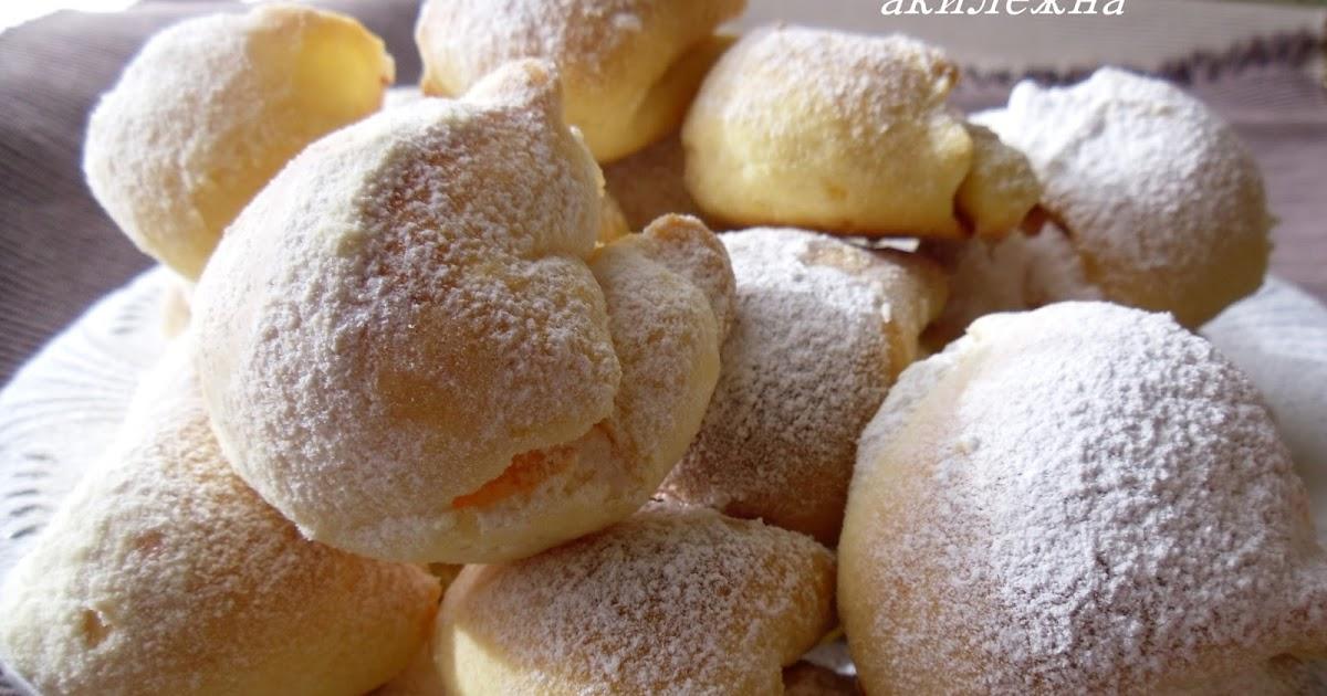 Творожное печенье ракушки рецепт с фото пошагово