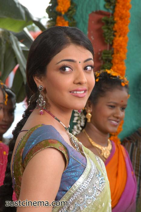 Kajal Agarwal In Saree Mr.Perfect