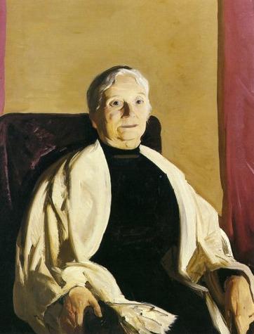 1914 A Grandmother oil