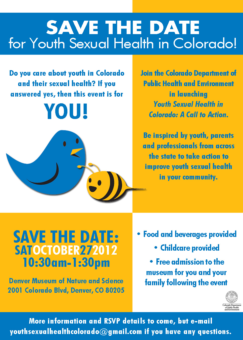 Save The Date Conference Save the date for youth sexual