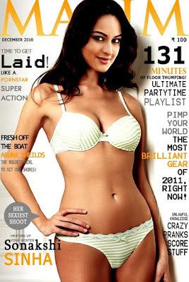 Sonakshi Sinha in Bikini