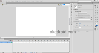 adobe flash,pengertian adobe flash,mengenal adobe flash cs6,cara membuat file dokumen baru di adobe flash cs6