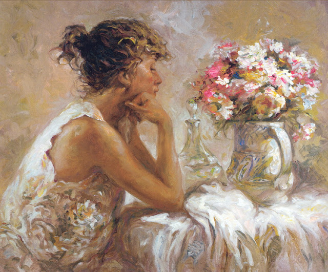 pensativa, thinking, Jose Royo